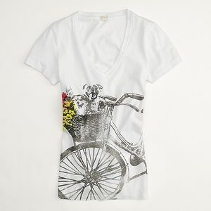 J. Crew Factory Max and Molly Gallery Tee